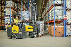 aisle master articulated forklift - Northern Forklifts