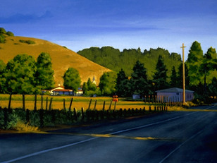 Late Afternoon Light, Nicasio