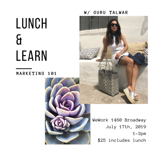 7/17 - Lunch and Learn: Marketing 101