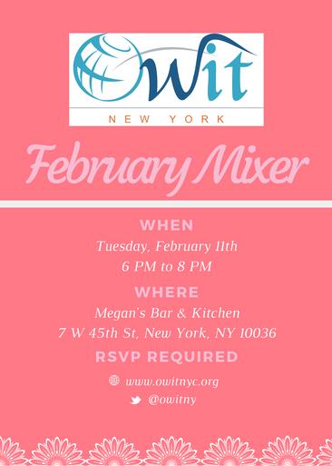February Mixer