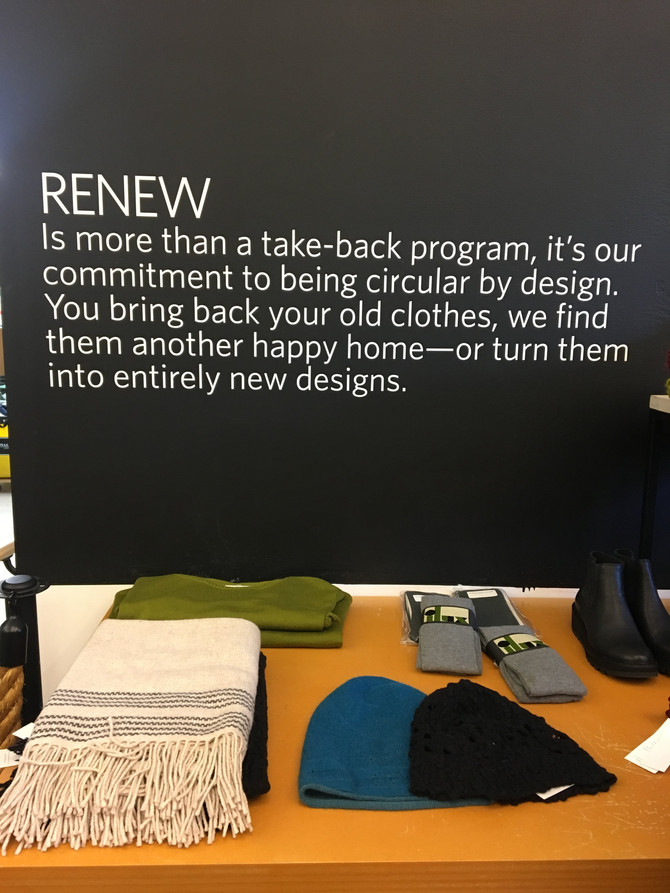 Visit to Eileen Fisher Renew Store