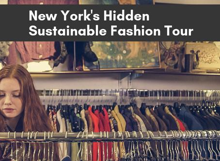 7/1 - New York's Sustainable Fashion Tour