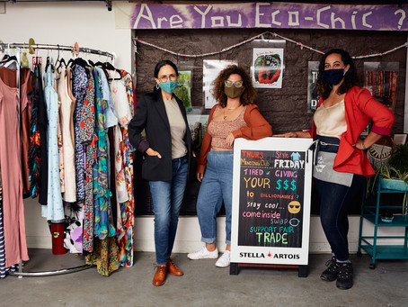 Swapping Clothes and Sustainable Fashion Key at New Community Center
