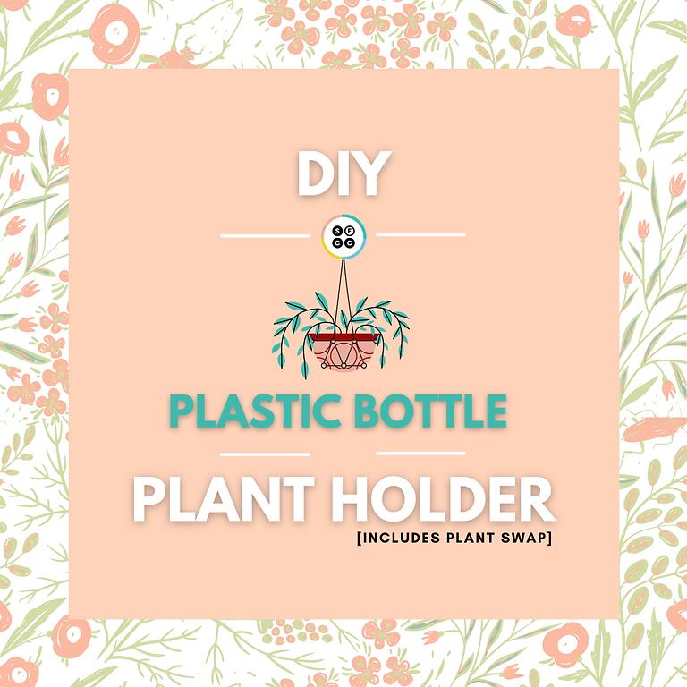 DIY Plastic Bottle Plant Holders