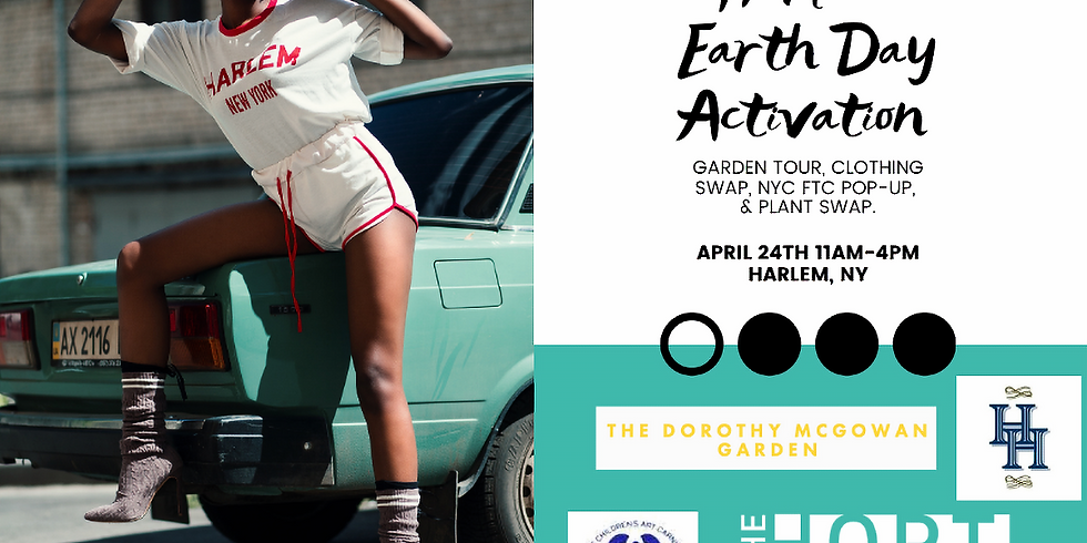Harlem Earth Day Activation