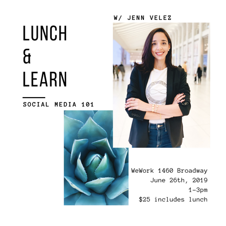 6/26 - Lunch and Learn: Social Media