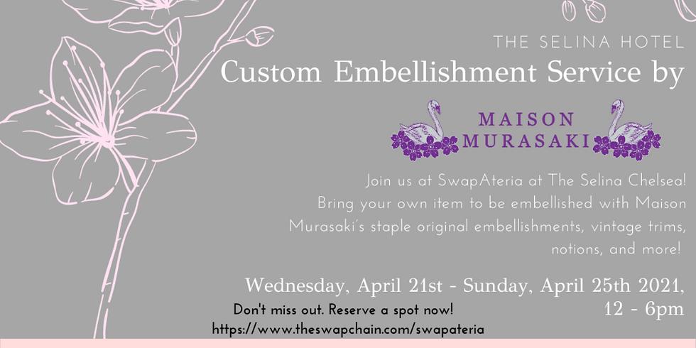 Custom Embellishment Service by Maison Murasaki