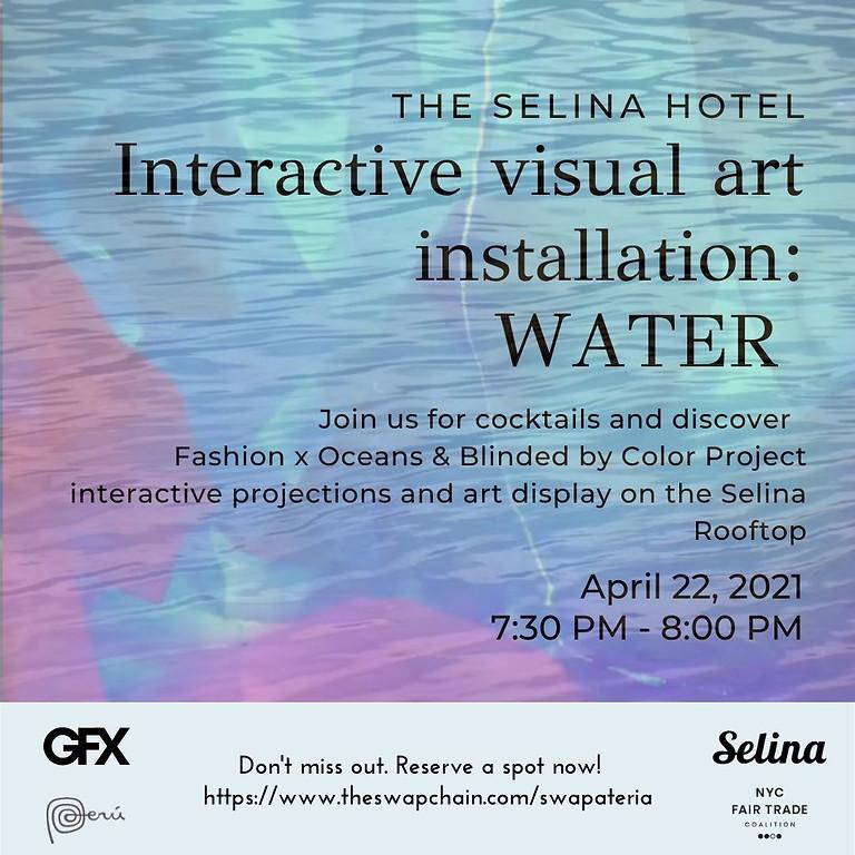 Interactive Visual Art: Water