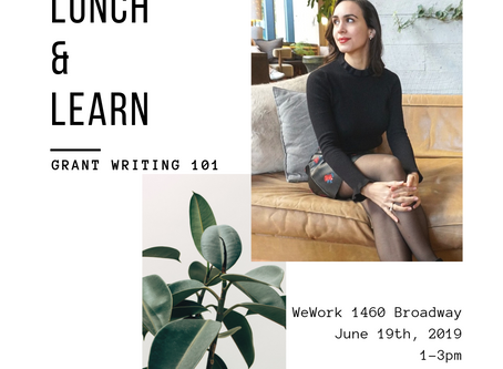 6/19 - Lunch and Learn Grant Writing 101