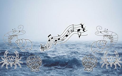 Fruits de mer et chants marins