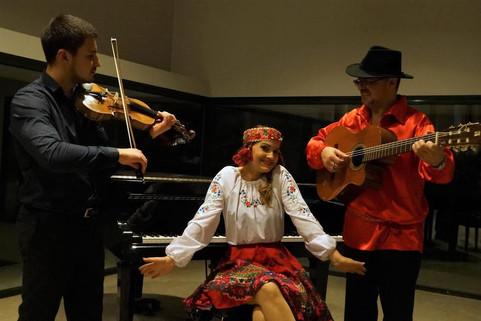 Le trio de l'étoile de Moscou
