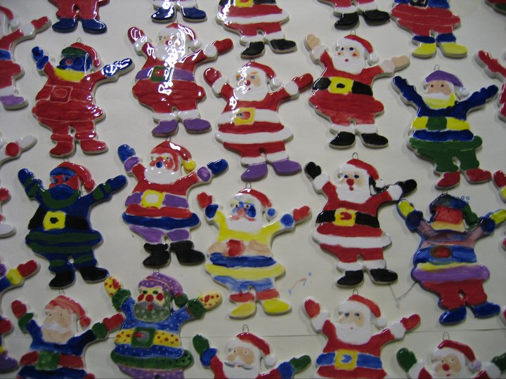Father Christmas, Christmas tree decorations