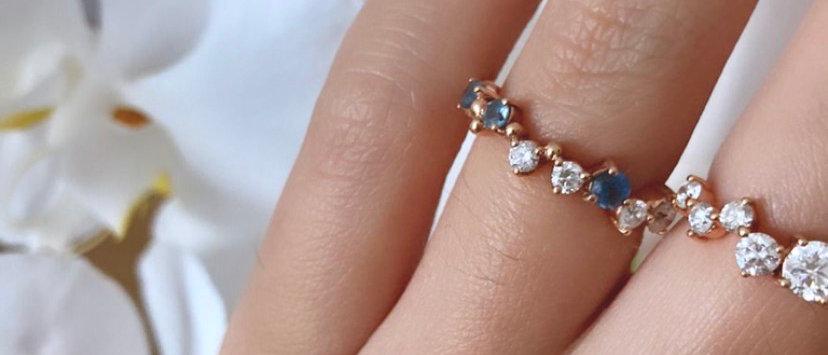 Delphin Grand Diamond Ring