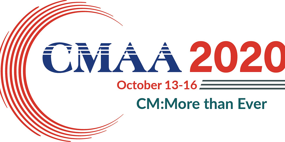 Introducing CMAA 2020 - National Online Event