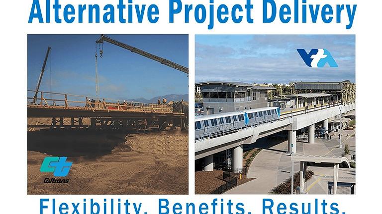 Education Webinar: Alternative Project Delivery in Bay Area Transit