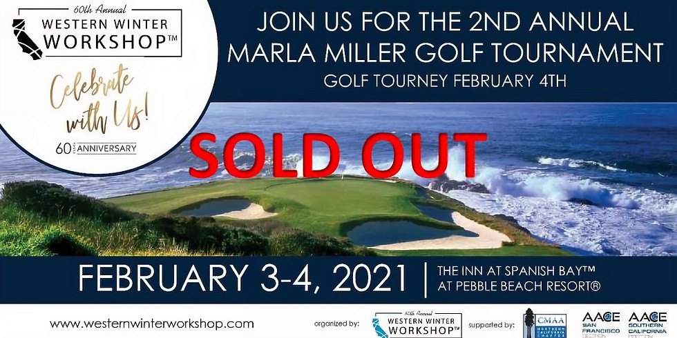 Western Winter Workshop 2nd Avenue Marla Miller Golf Tournament