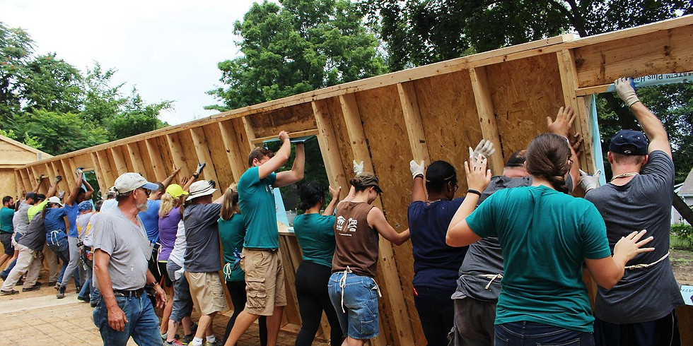 Habitat for Humanity - Team Build Day