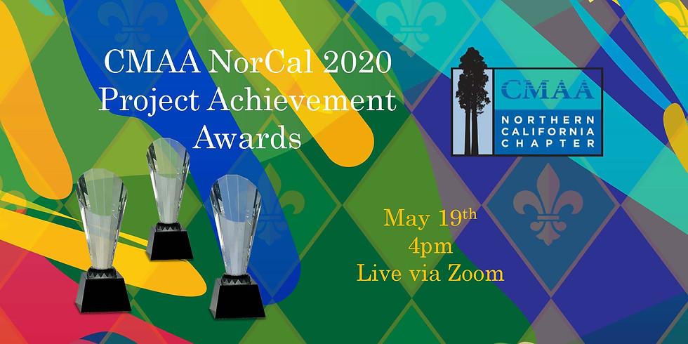 CMAA NorCal 2020 Project Achievement Awards Announcement - LIVE via ZOOM