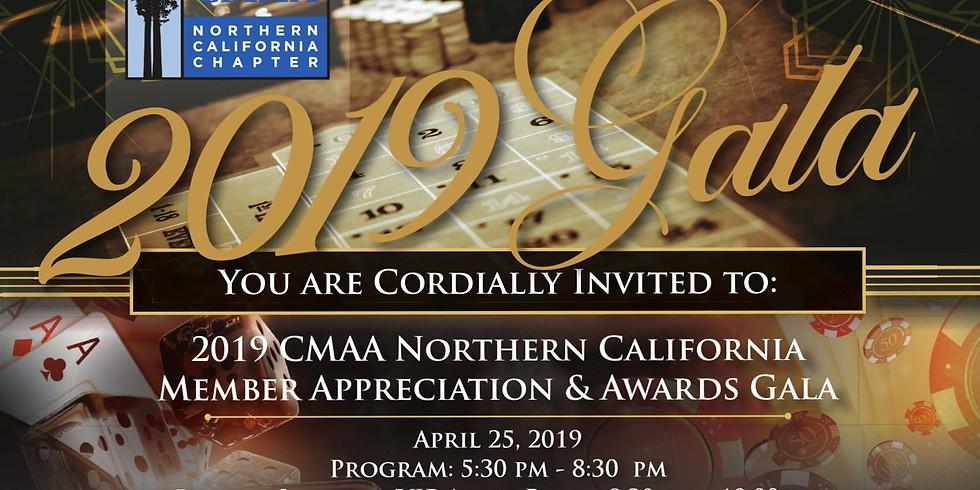 2019 CMAA Northern California Member Appreciation & Awards Gala