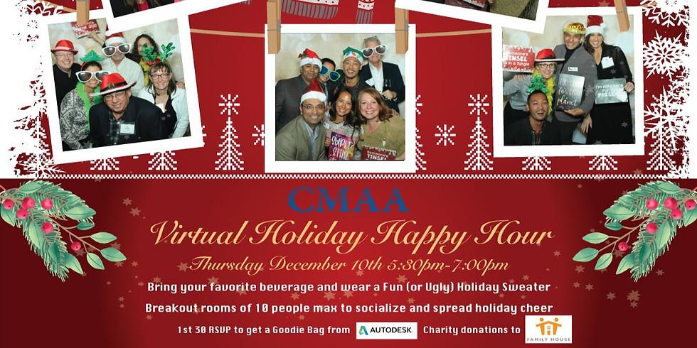 CMAA NorCal Annual Holiday Mixer/Virtual Happy Hour