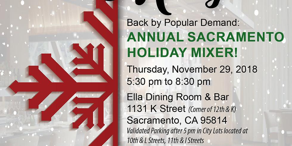 ***SOLD OUT *** Annual Sacramento Holiday Mixer