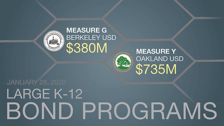CMAA WEBINAR: Large K-12 Bond Programs