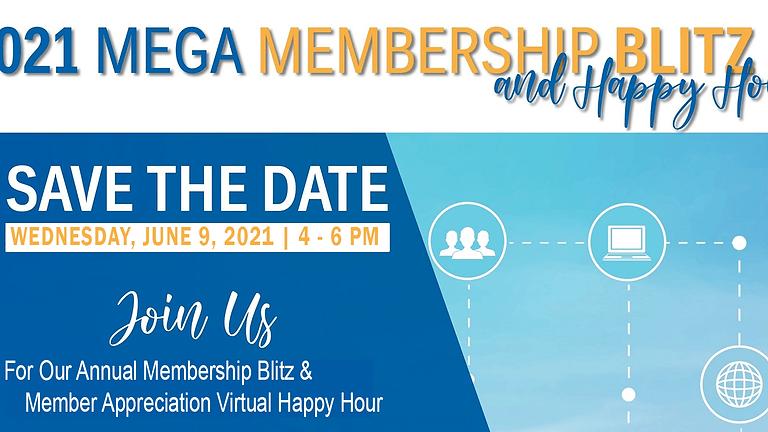Annual Membership Blitz and Member Appreciation Virtual Happy Hour