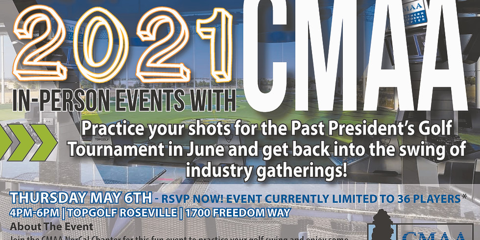 Top Golf Mixer - Tee Up 2021 In-Person Events with CMAA Members