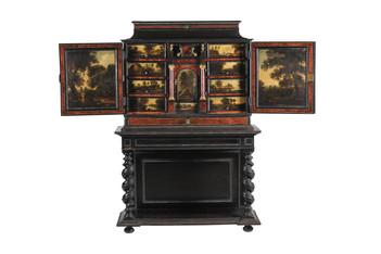 Cabinet flamand du 17ème siècle