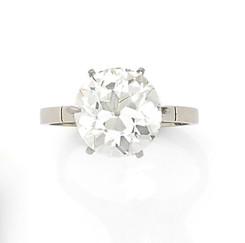 Bague diamant 5,10 carats