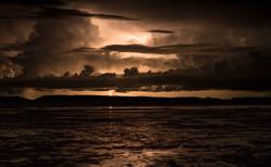 Lightening Over the Marsh