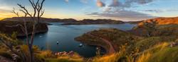 Sunrise over Lake Argyle
