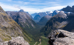 Milford Sound from Gertude Saddle