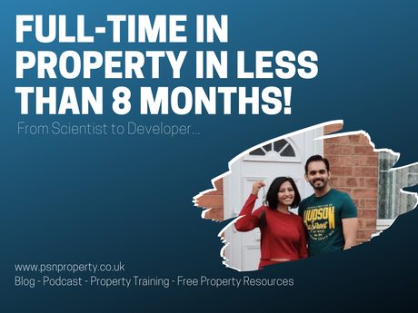 Full-Time in Property in Less Than 8 months