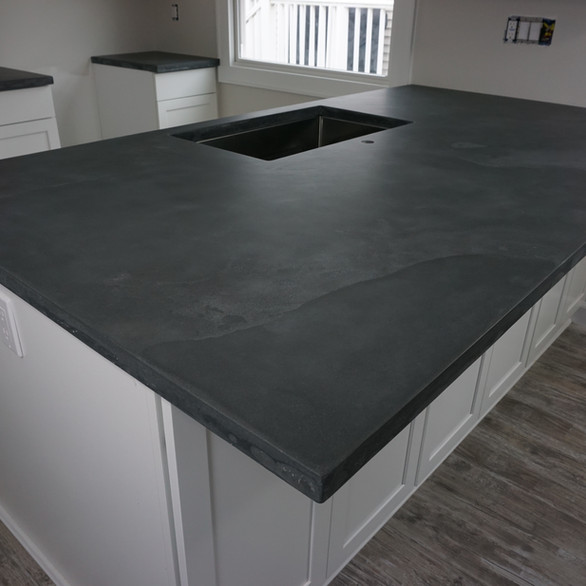 charcoal with medium gray veining kitchen countertops