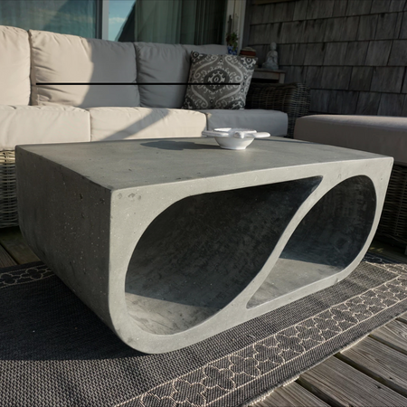 yin-finity outdoor coffee and side tables