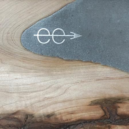 nibi spalted ambosia maple and concrete river counter