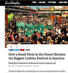 The Dinah Shore Weekend for Nylon