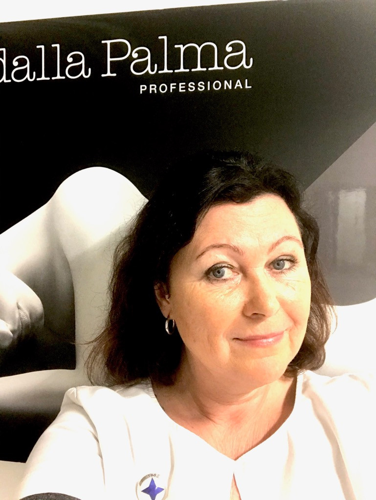 Diego Dalla Palme Professional SKY-kosmetologi Birgitta Ruuhijärvi