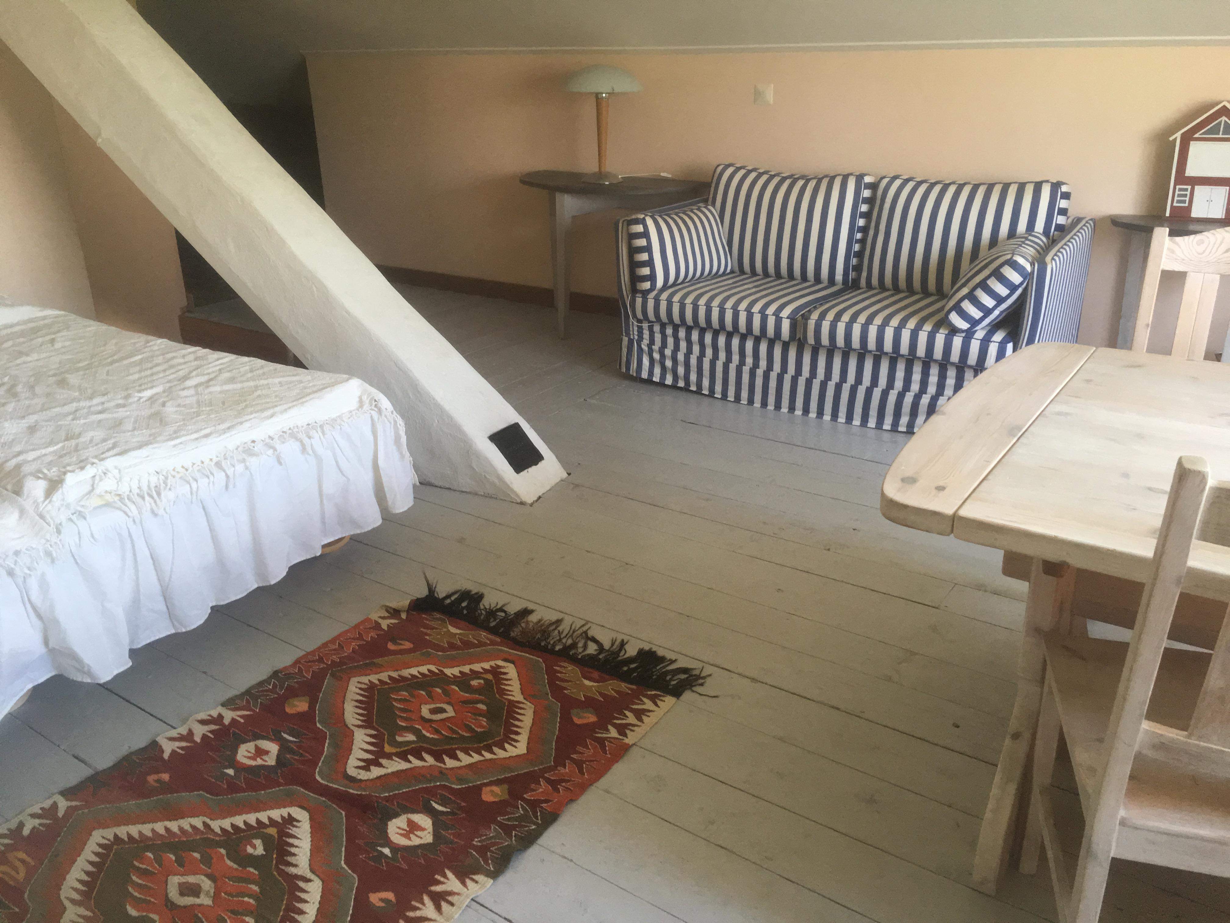 Dubbelrum på övervåningen