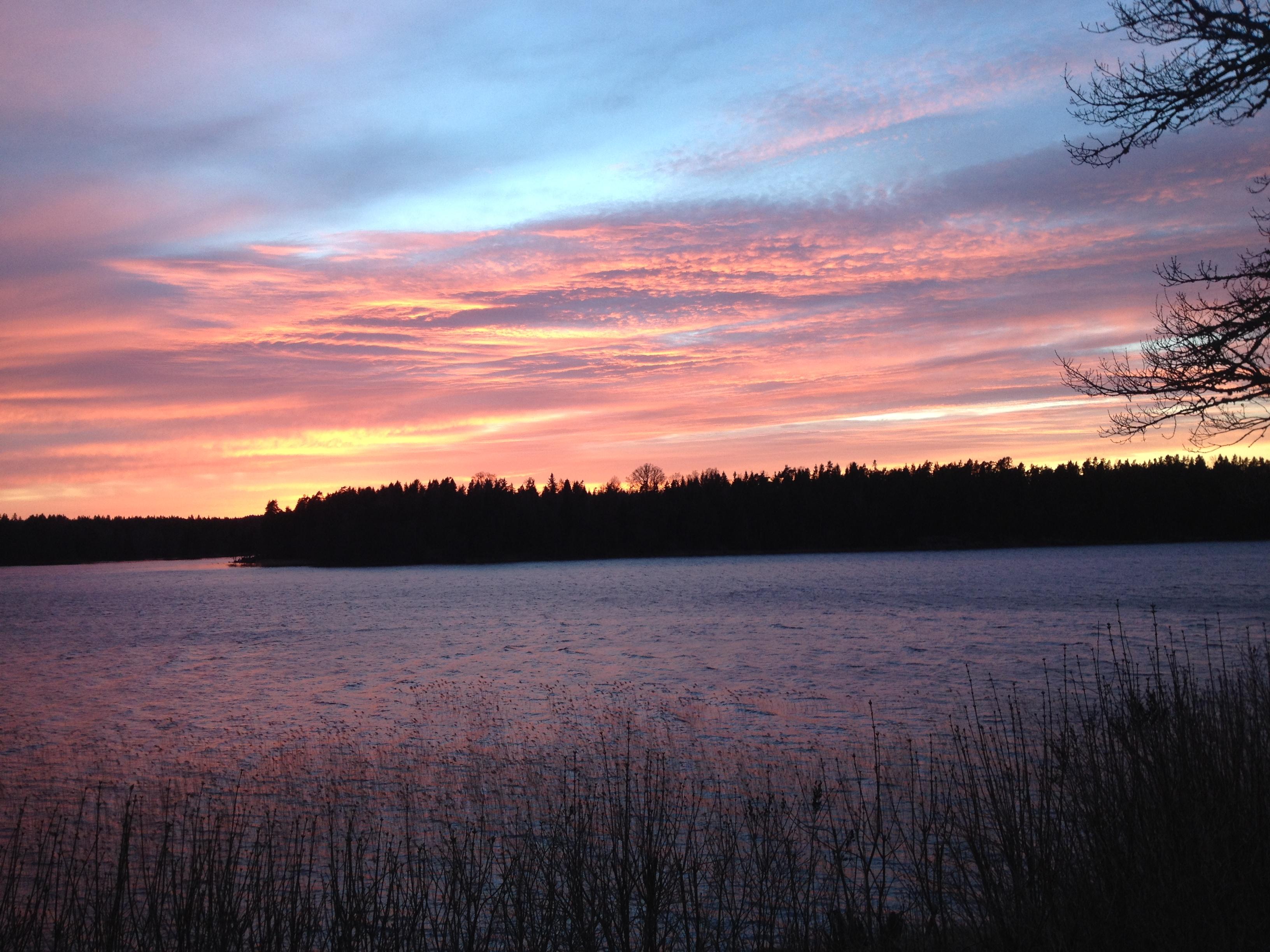 Otroliga solnedgångar