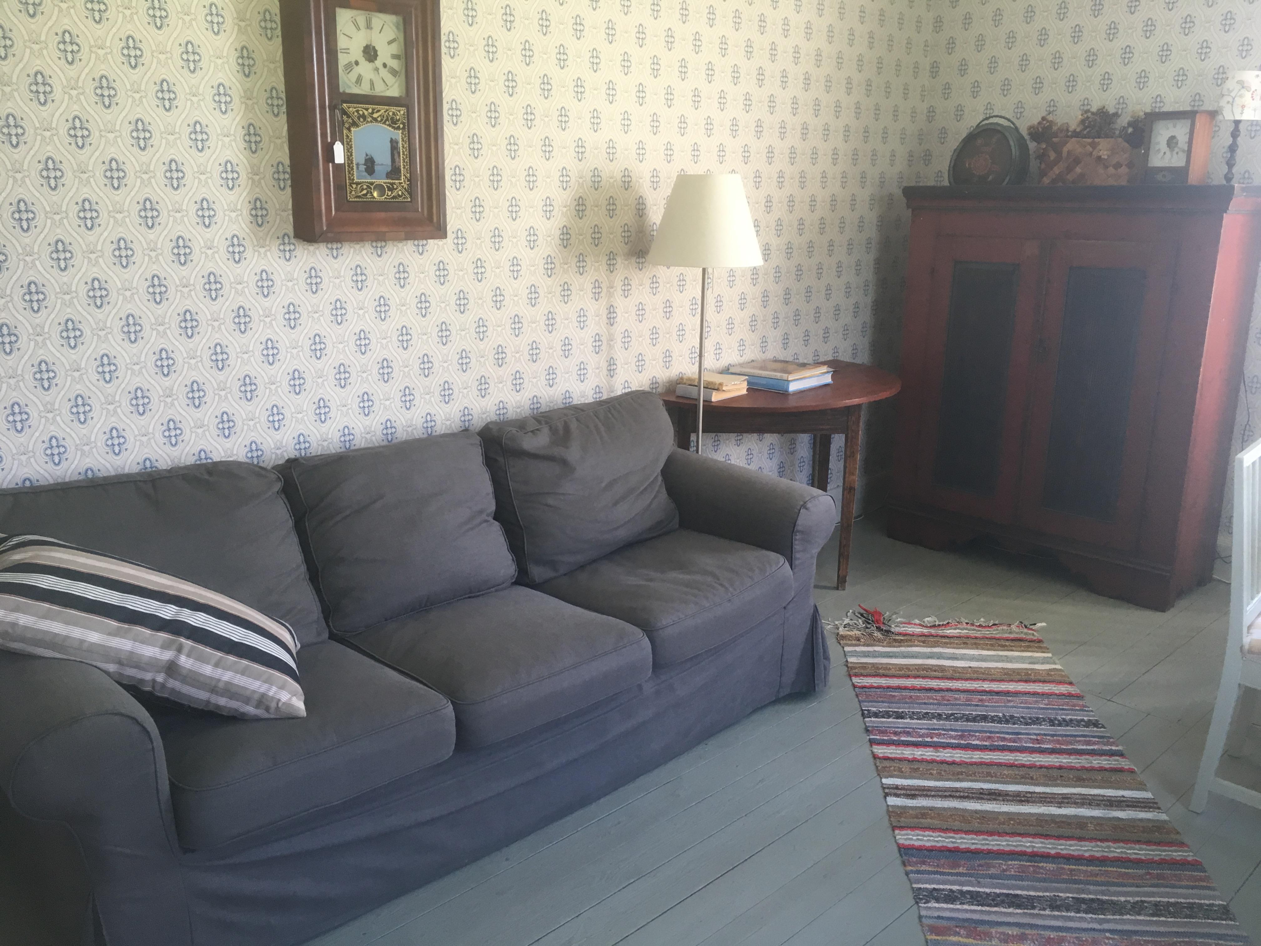 Skön soffa i Stora Salen