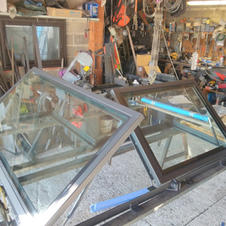 Trappe deux vantaux manuelle en angle