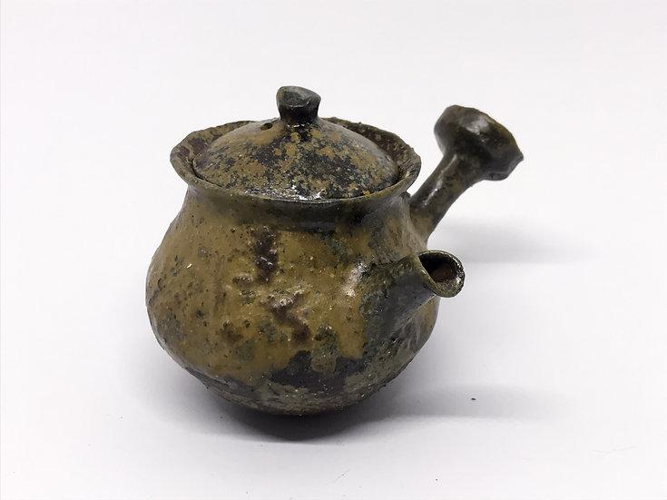 Théière façonnée main 4 /Hand pitched teapot 4 - 185ml