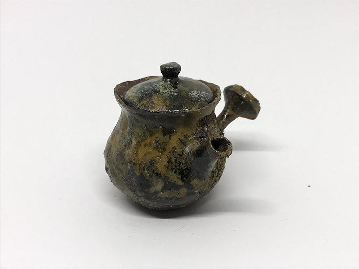 Théière façonnée main 5 /Hand pitched teapot 5 - 75ml
