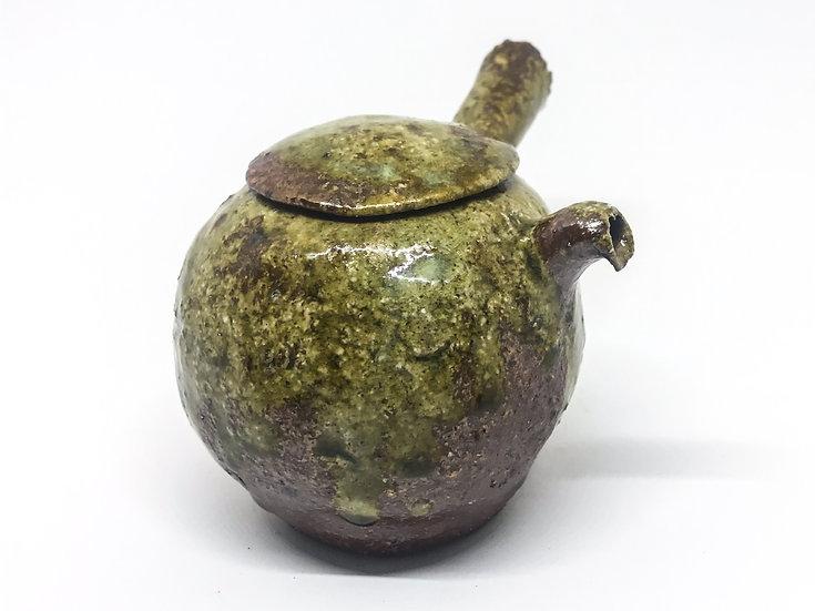 Théière façonné main 5 /Hand pitched teapot 5