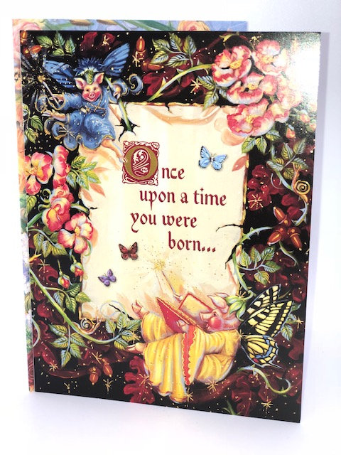 Once Upon A Time You Were Born... (Birthday Card)