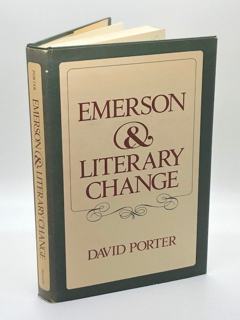 Emerson & Literary Change, by David Porter