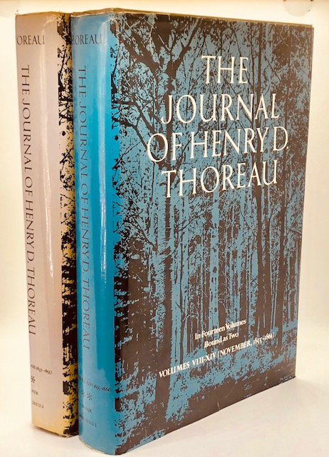 The Journal of Henry David Thoreau (In 14 Volumes Bound As Two)