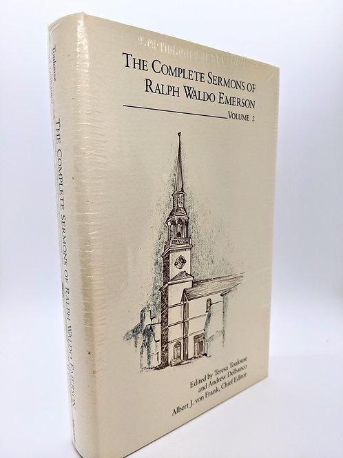 The Complete Sermons of Ralph Waldo Emerson, Vol. 2